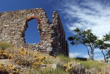 Free Castle Ruins Royalty Free Stock Image - 16383456