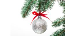 Free Baubles And Holly Royalty Free Stock Image - 16383576