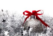 Free Baubles And Holly Stock Photos - 16383593