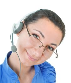 Free Telephone Operator Royalty Free Stock Image - 16383596