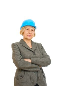 Free Senior Engineer Woman Stock Photo - 16383700