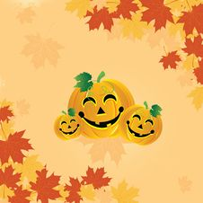 Free Halloween Pumpkin Royalty Free Stock Photo - 16384065