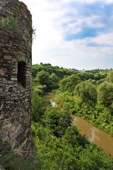 Free Ancient Tower Near River Stock Photography - 16384322