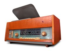 Vintage Radio Isolated Stock Images