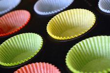 Cake Tins Stock Image