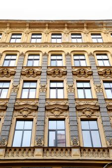 Free Building In Jugendstyle (Art Nouveau) Royalty Free Stock Photos - 16384968