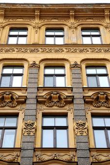 Free Building In Jugendstyle (Art Nouveau) Stock Photos - 16384993