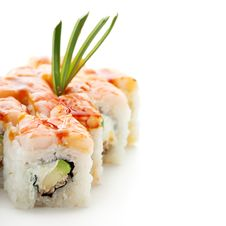 Free Japanese Cuisine - Sushi Stock Photography - 16385682