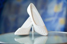 Free Shoes For The Bride Royalty Free Stock Photography - 16385867