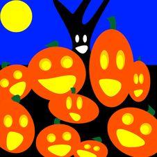 Free Pumpkin Group Stock Photography - 16386062