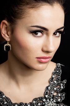 Free Beautiful Fashioned Woman Stock Photography - 16386362