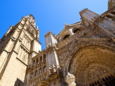 Santa Maria Catheral, Toledo Royalty Free Stock Image