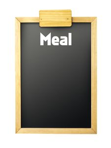 Free Restaurant Chalkboard Royalty Free Stock Photography - 16386387