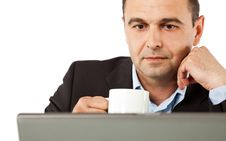 Free Businessman Working Stock Image - 16386611