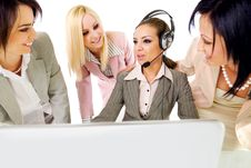 Successful Businesswomen Team Stock Photography
