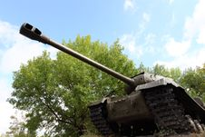 Russian Tank Royalty Free Stock Photography