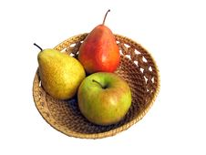 Free Fruits In Basket Stock Photo - 16388350