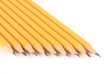 Free Isolated Pencils Stock Image - 16388581