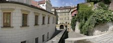 Free Narrow Street Between Old Houses In The Europe Royalty Free Stock Photo - 16388775