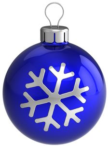 Free Christmas Ball. New Year Decoration (Hi-Res) Stock Images - 16389604