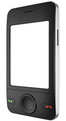 Mobile Smart Phone. (Hi-Res) Stock Photo