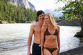 Free Couple In Swim Suits Royalty Free Stock Image - 16391806