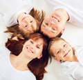Free Beautiful Family With Two Children Stock Photos - 16392713