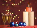 Free Christmas Ornament And Candle Lights Royalty Free Stock Photography - 16395397