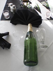 Free Champagne And Glasses Stock Image - 16390621