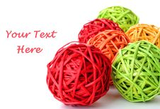 Free Colorful Spheres Royalty Free Stock Photos - 16391158