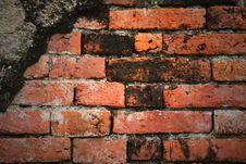Free Old Brick Wall Stock Photo - 16391560