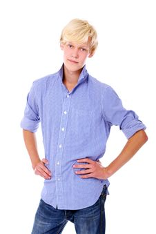 Free Young Blond Guy Royalty Free Stock Photos - 16392278