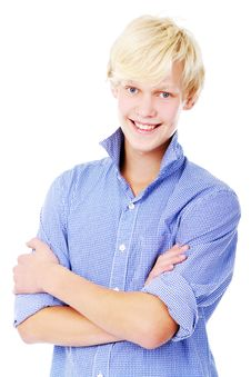 Free Young Blond Guy Stock Image - 16392291