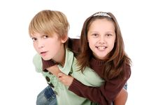 Free Boy And Girl Stock Images - 16392304