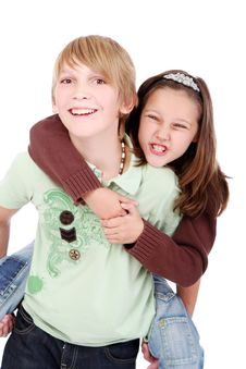 Free Boy And Girl Royalty Free Stock Photography - 16392307
