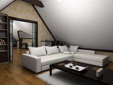 Free Modern Interior Stock Image - 16392601