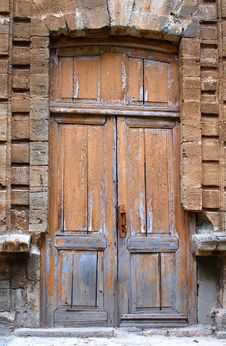 Free Close-up Image Of The Old Door Stock Photos - 16393433