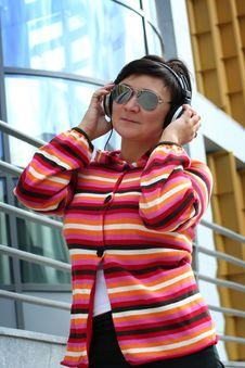 Free Headphones Royalty Free Stock Photo - 16393685