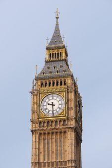 Big Ben Clock Tower.London UK. Royalty Free Stock Photography