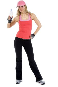 Free Woman Exercising Stock Images - 16394164