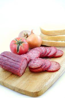 Free Salami Stock Photo - 16394610