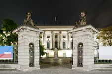 Free Humboldt University In Berlin At Night Stock Photo - 16394810