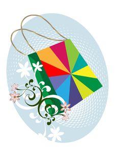 Free Colorful Bag Stock Image - 16394871
