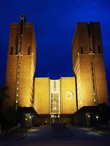 Free City Hall (Radhuset) Stock Image - 16395011