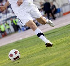 Free Soccer Player Royalty Free Stock Photography - 16395067