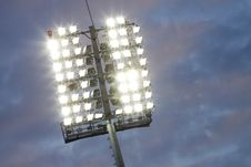 Free Stadium Lights Stock Images - 16395074