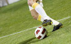 Free Soccer Player Stock Photos - 16395083