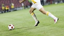 Free Soccer Player Royalty Free Stock Image - 16395086