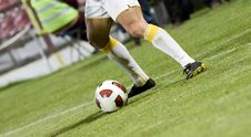 Free Soccer Player Royalty Free Stock Photos - 16395088