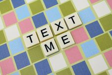 Free Text Me 2 Stock Photography - 16396452
